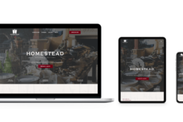 The Homestead Kitchen + Libations | Rounded Digital Client